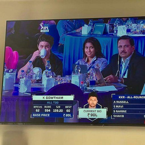 Aryan Khan makes debut at IPL 2021 Auction; netizens call him Shah Rukh Khan's 'carbon copy'