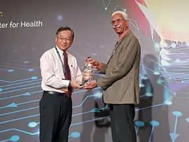 Indian-origin doctor known for stopping spread of communicable diseases via air travel