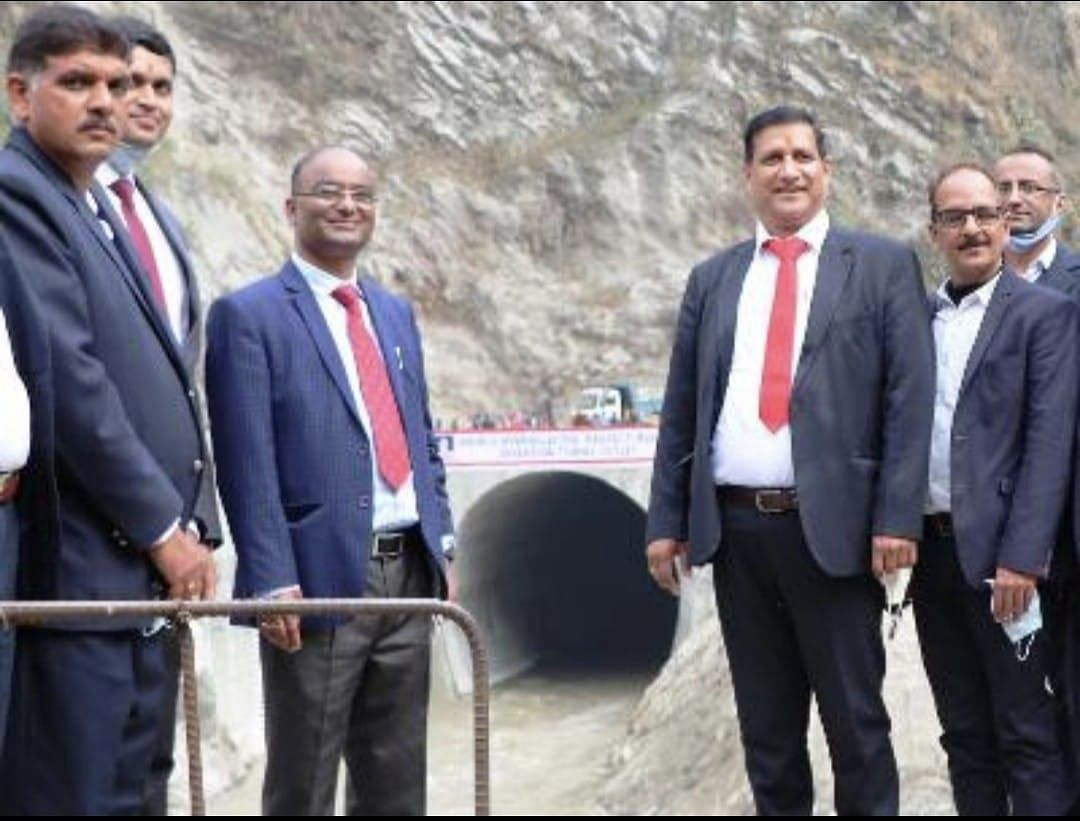 SJVN CMD inaugurates river diversion arrangement of 900 MW Arun-3 HEP