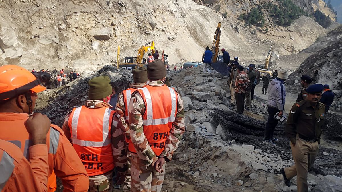 Uttarakhand disaster: 11 bodies recovered from Tapovan tunnel; death toll reaches 58, 146 missing