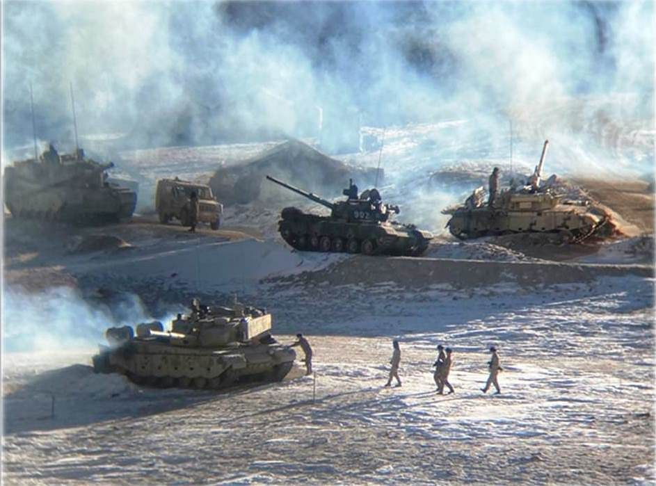 In Pics: Indian and Chinese troops disengage from banks of Pangong lake area in Eastern Ladakh
