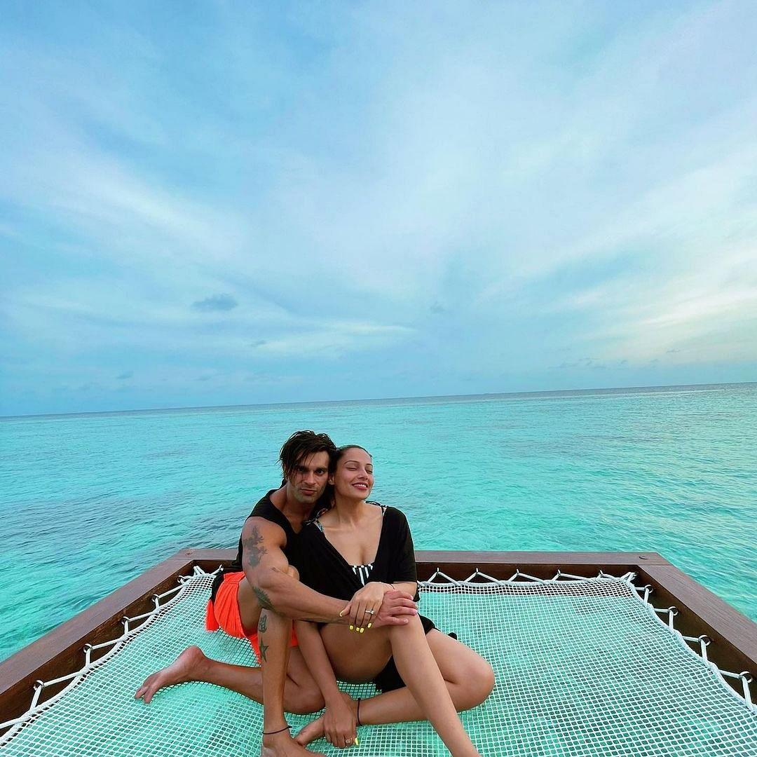Bipasha Basu, Karan Singh Grover share pics from their exotic Maldives getaway
