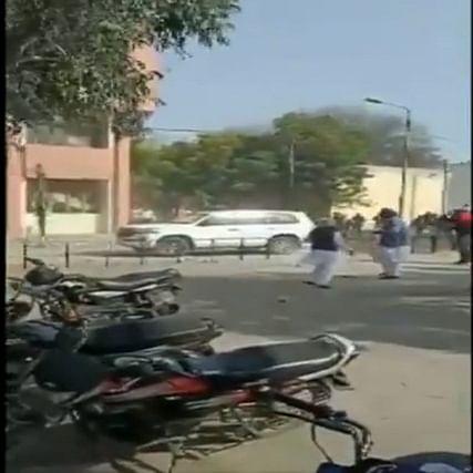 Punjab: Sukhbir Singh Badal's vehicle attacked in Jalalabad; SAD says Congress goons behind attack