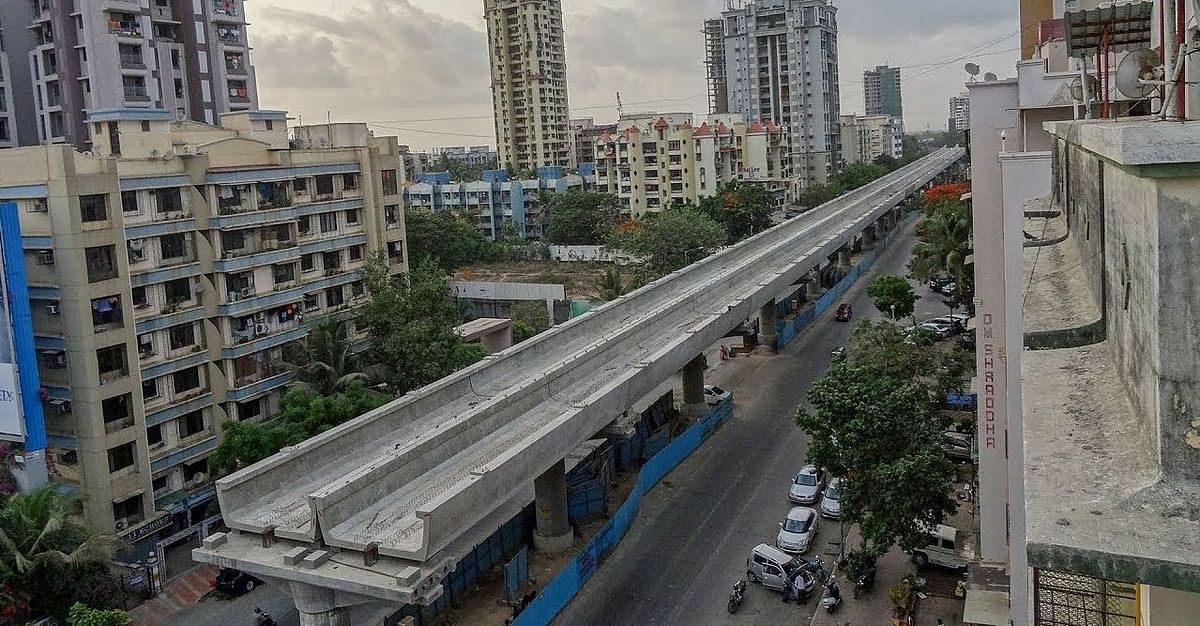 MMRDA begins overhead wire laying works on Metro Lines 2A, 7
