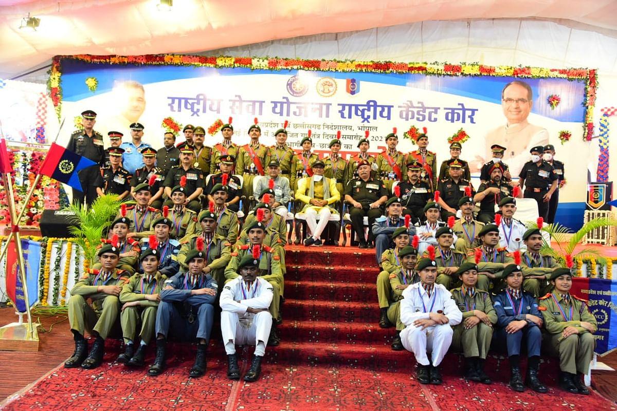 Madhya Pradesh: NCC, NSS should create awareness about drug menace, says Shivraj Singh Chouhan