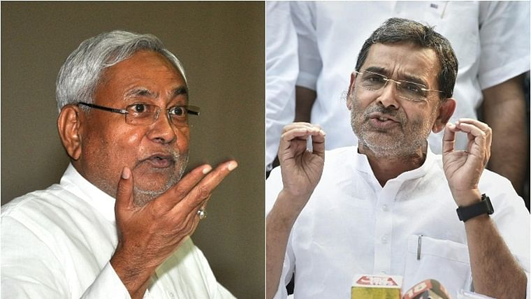 Upendra Kushwaha meets Nitish Kumar, likely to merge with JDU: Report