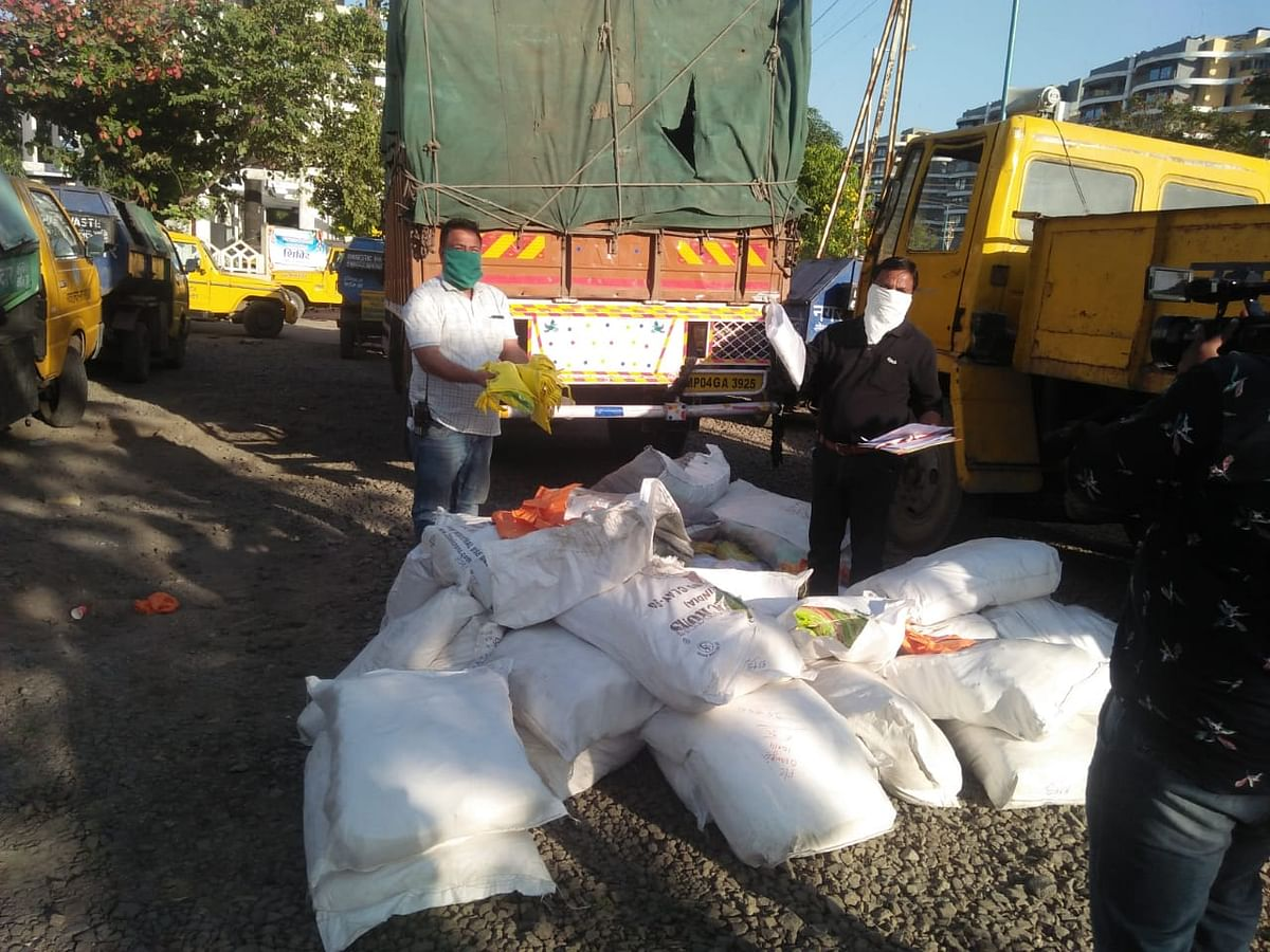 38 sacks of plastic bags seized by IMC