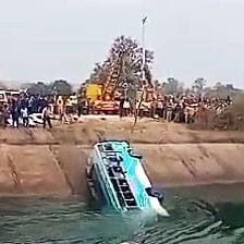 Madhya Pradesh: Congress holds ministers responsible for Sidhi bus accident, demands FIR against PWD and transport ministers