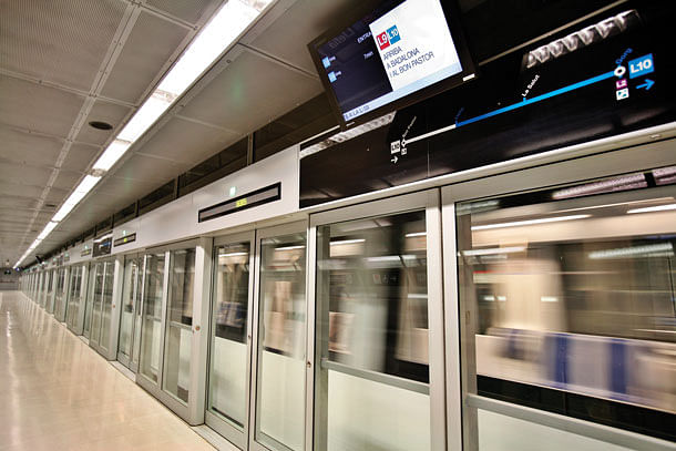 Mumbai: Platform screen door installation work begins at new Metro stations