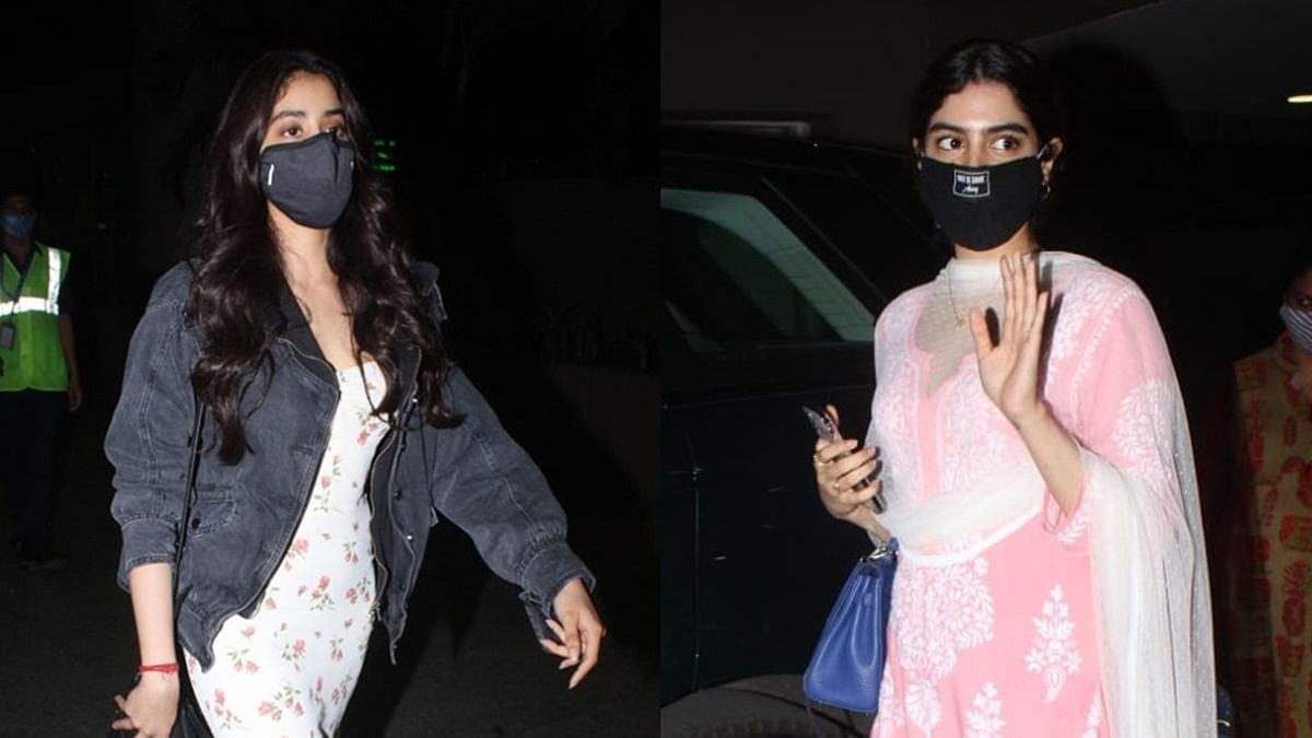 Janhvi and Khushi Kapoor leave town ahead of mom Sridevi's death anniversary