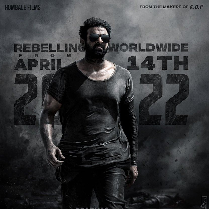 Prabhas, Shruti Haasan's 'Salaar' to hit theatres on 14 April, 2022