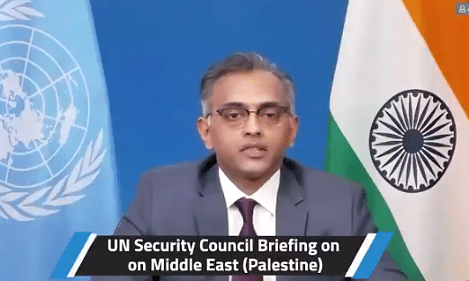 Will facilitate early supply of COVID-19 vaccines to Palestine: India at UNSC