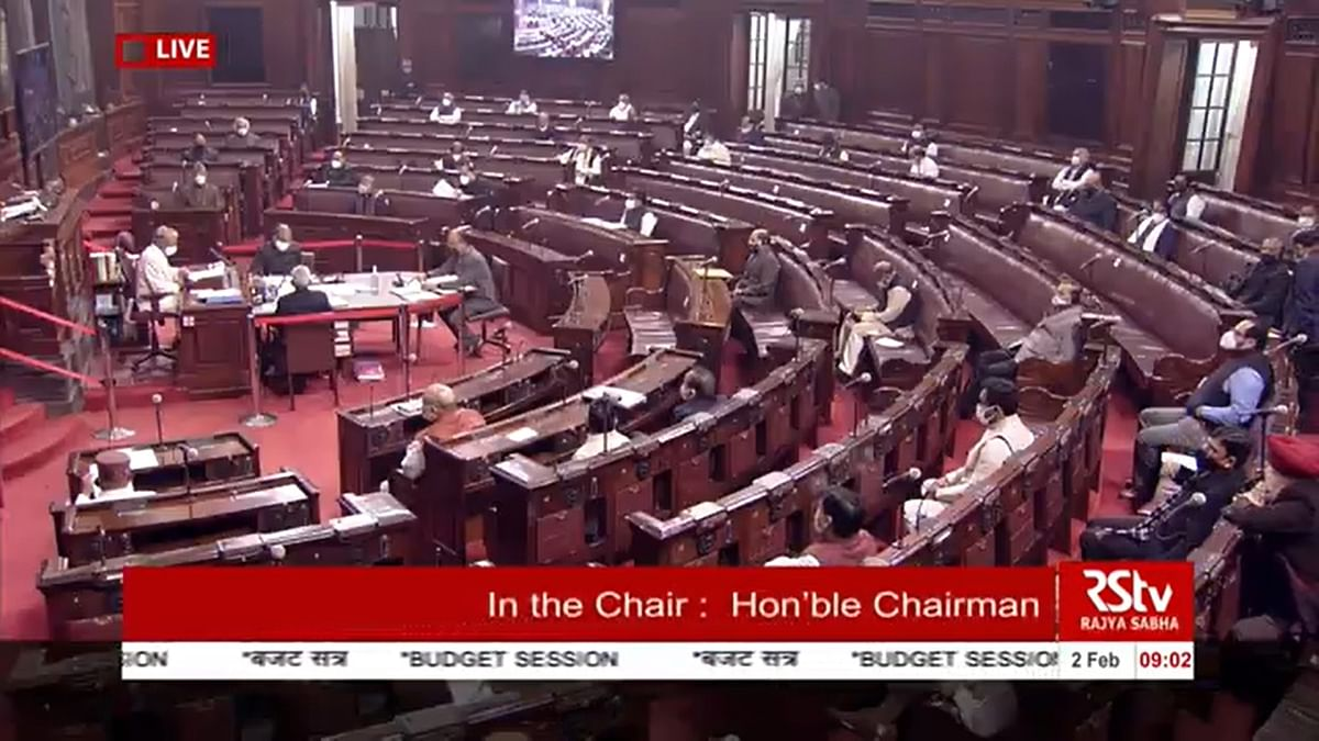 Slogans, oppn walkout in Rajya Sabha over farm laws; House adjourned till 11:30 am