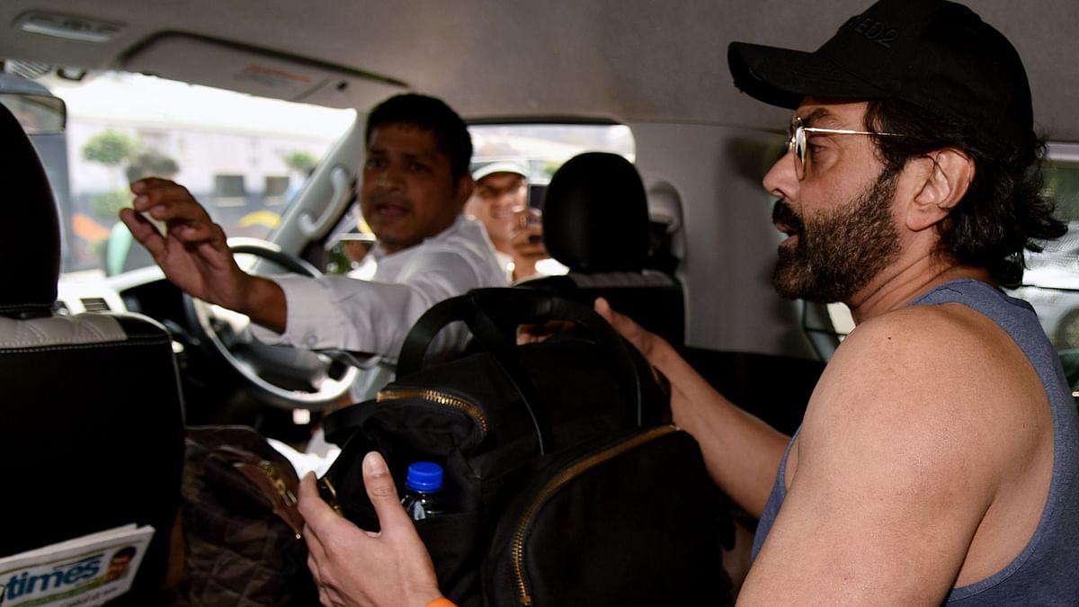 Protesting farmers stall shoot of Bobby Deol, Sanya Malhotra's film 'Love Hostel' in Punjab
