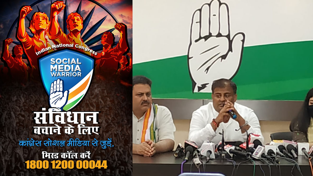 Congress starts 'digital warrior' campaign to counter BJP-RSS