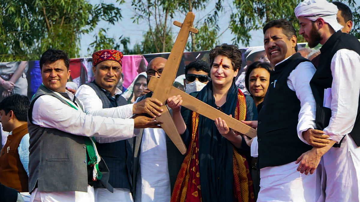 Priyanka Gandhi spreads wings in western UP; to hold Kisan Mahapanchayats in Meerut and Bijnor on Feb 15