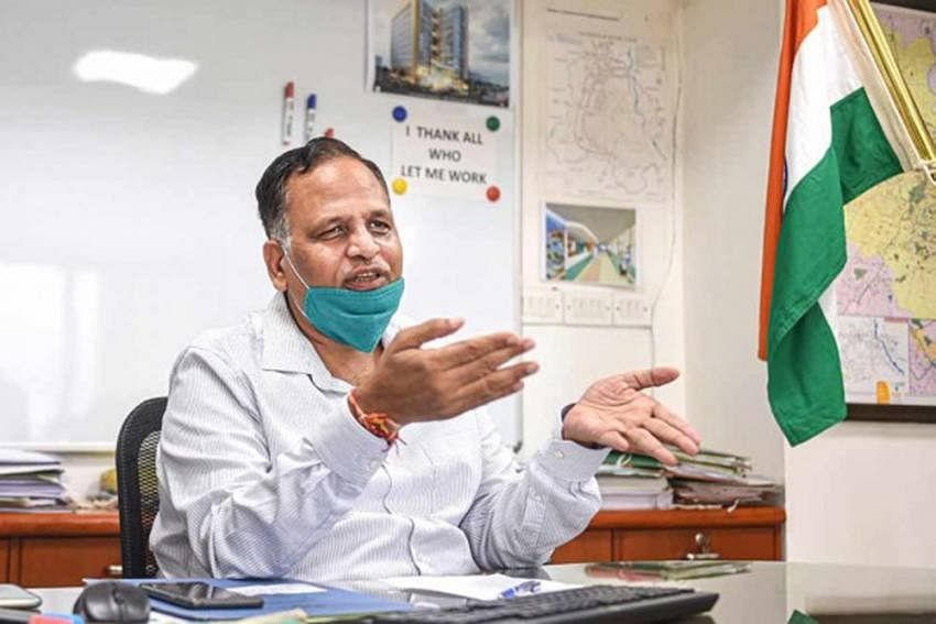 Latest sero survey: 56.13% people have antibodies against Covid, says Delhi health minister Satyendra Jain