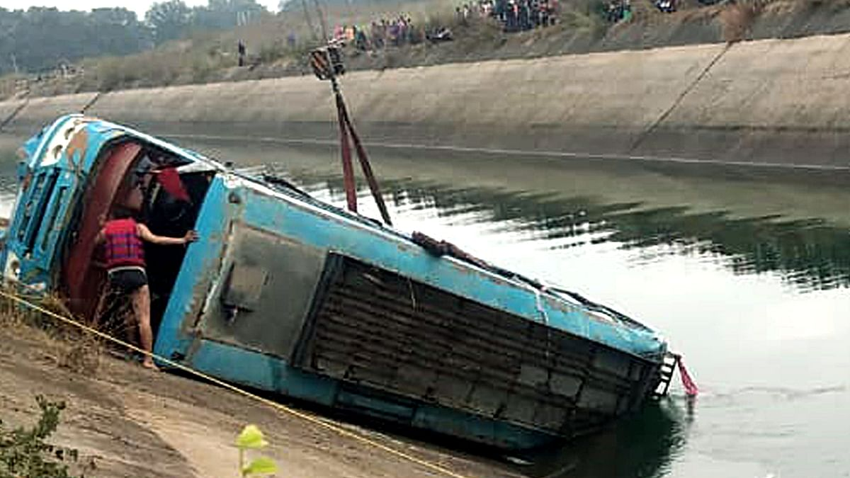 Sidhi bus accident: Heard strange sound before bus plunged into water, says driver