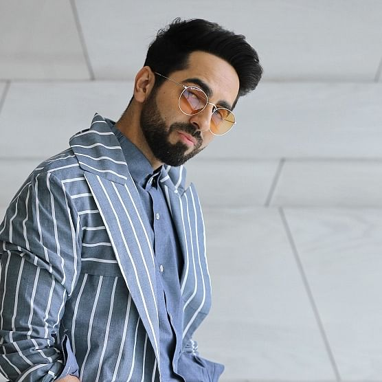 See pics: Ayushmann Khurrana's young fans mob his hotel