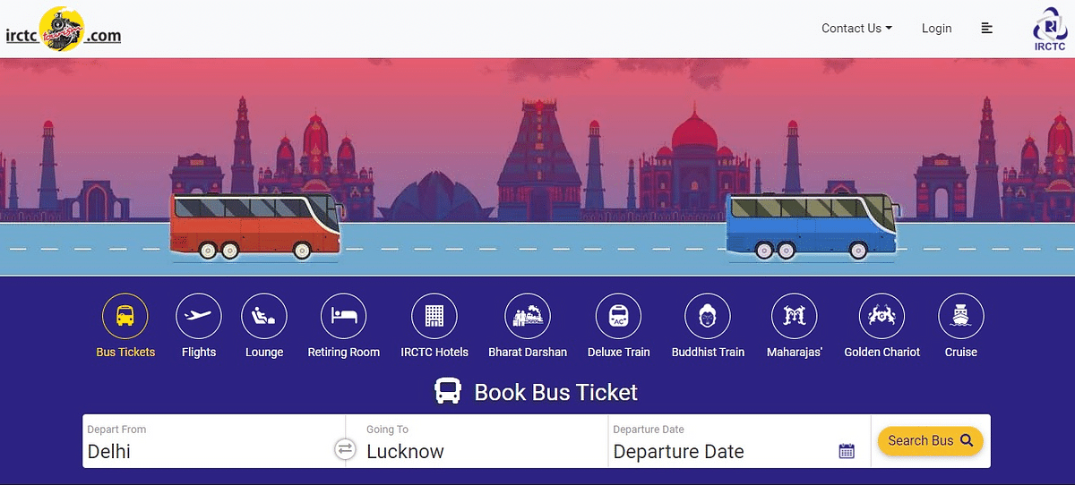 Now, IRCTC launches online bus booking services