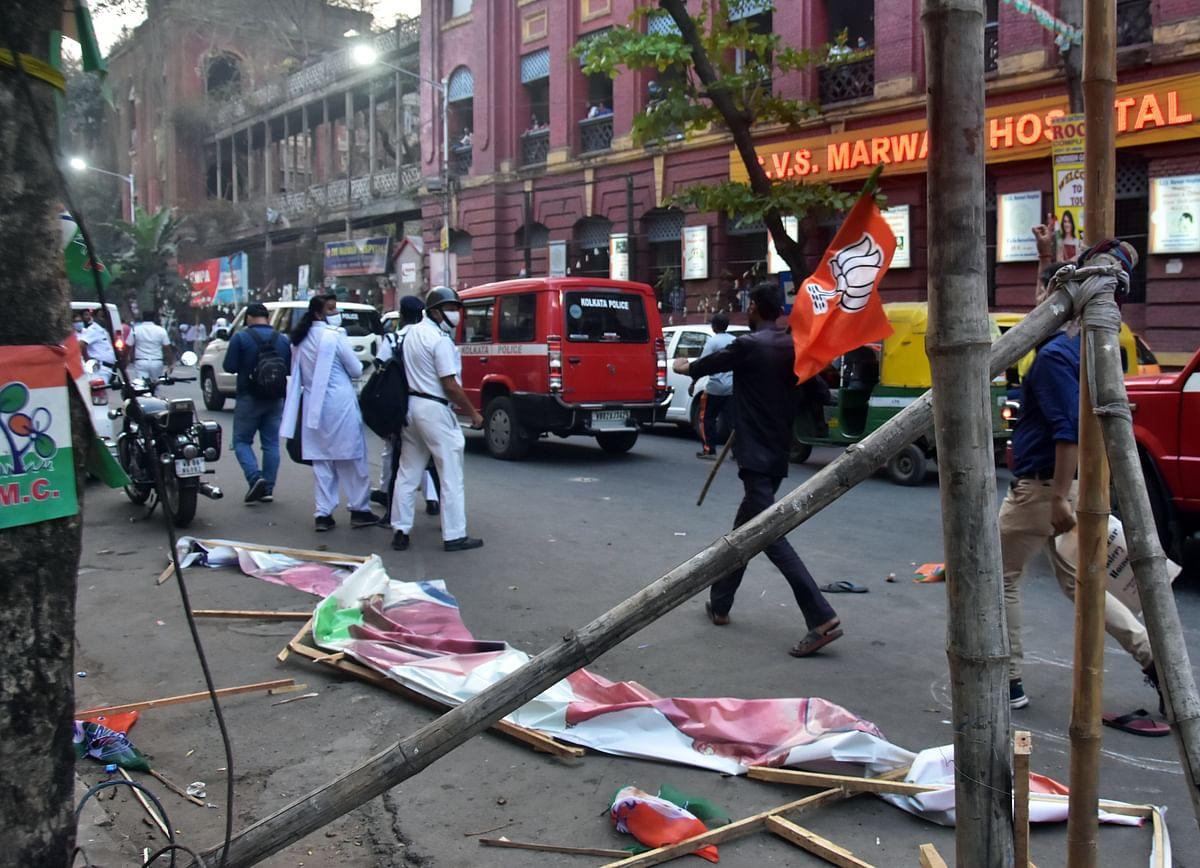 West Bengal: Political violence continues in BJP's 'Parivartan Yatra'