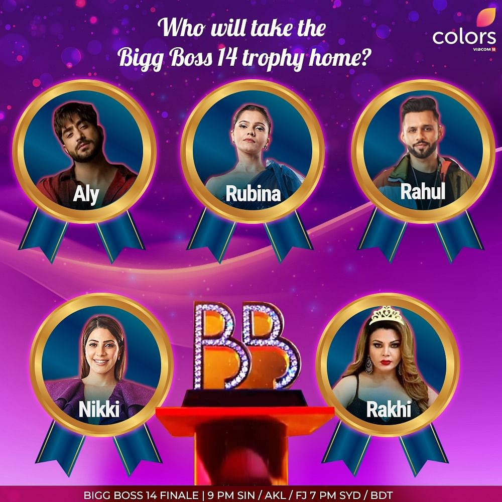 Bigg Boss 14: Rubina Dilaik, Rahul Vaidya or Aly Goni, who's going to win this season?