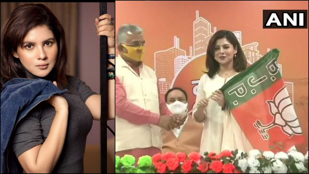 West Bengal: Actor Payel Sarkar joins BJP in Kolkata