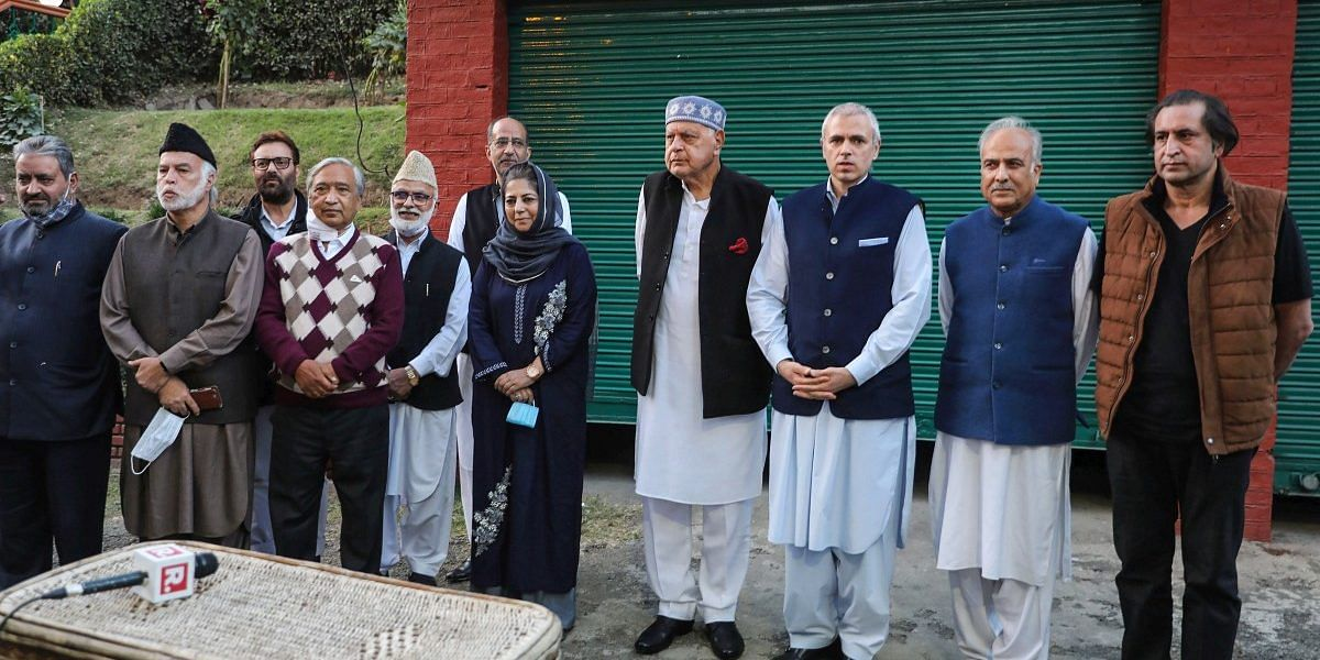 Farooq Abdullah's Gupkar Alliance dead and buried 4 months after birth