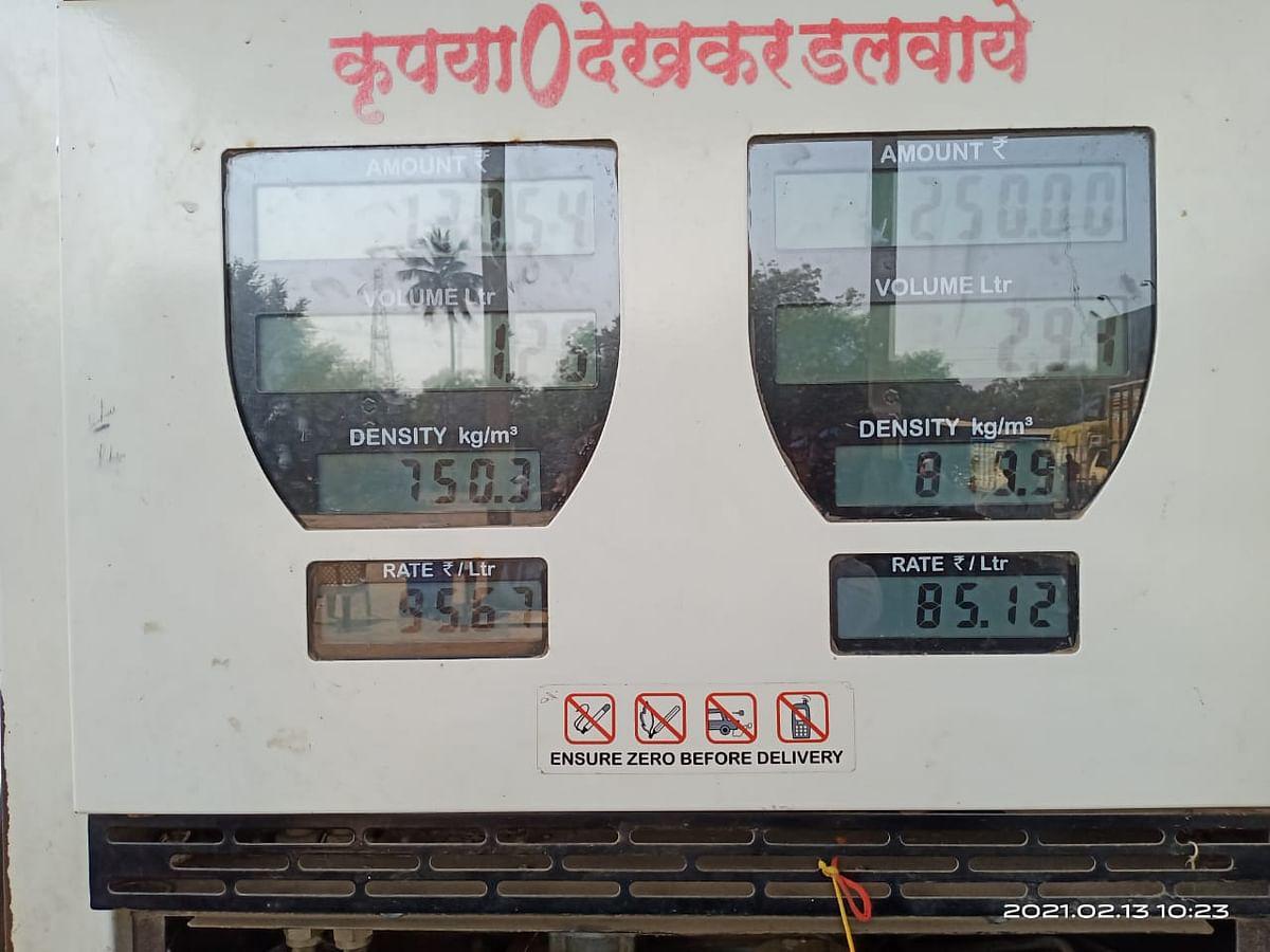 Price of petrol in Maharashtra