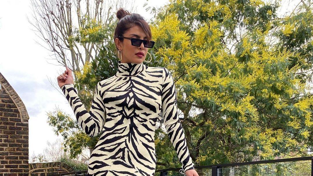 Priyanka Chopra stuns in a 'White Tiger' inspired dress that costs around Rs 1.9 lakh