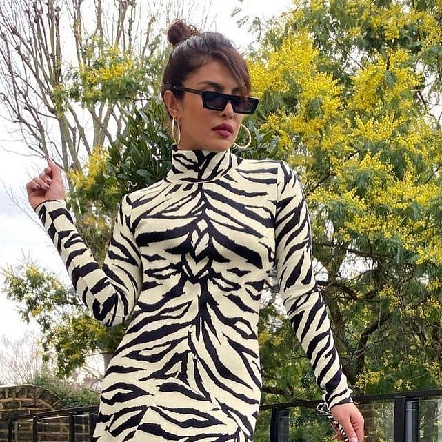 Priyanka Chopra stuns in a 'White Tiger' inspired dress that costs around Rs 1.9 lakh