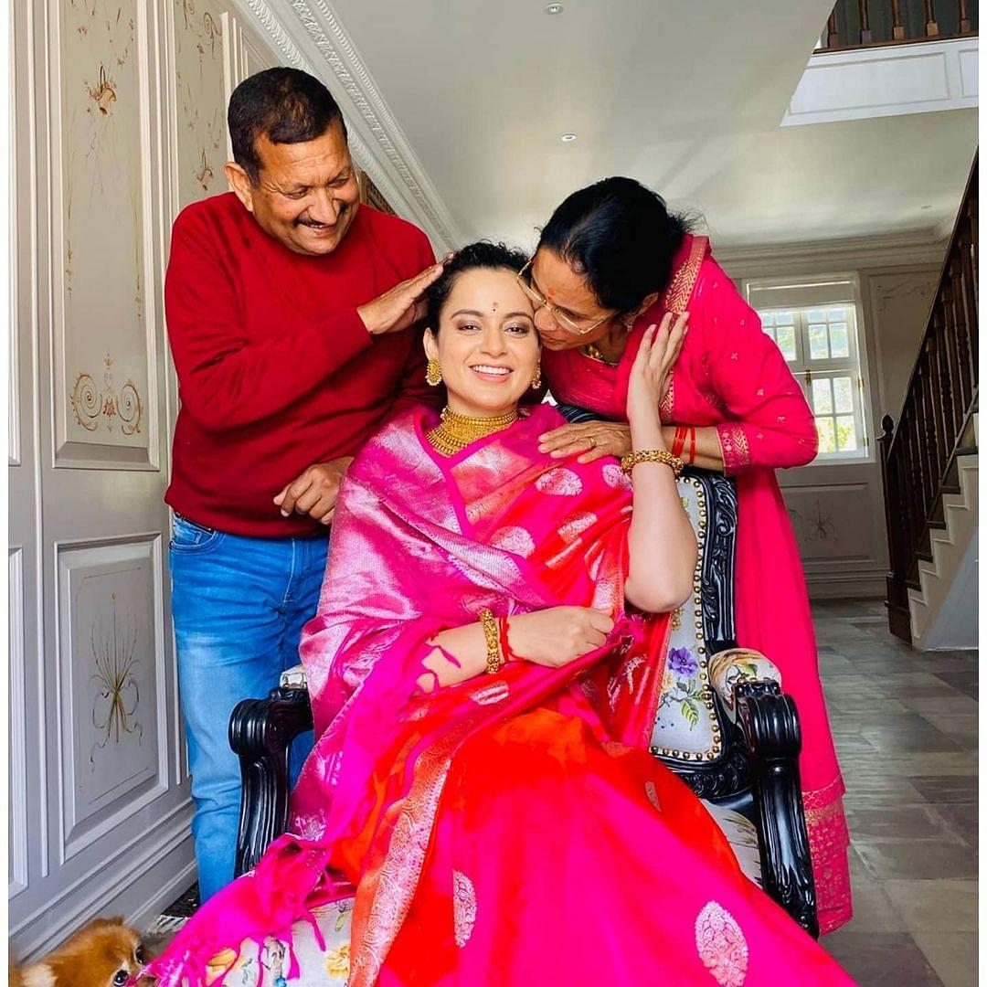 Kangana Ranaut transforms her parents' Mumbai abode - check out inside pics, videos