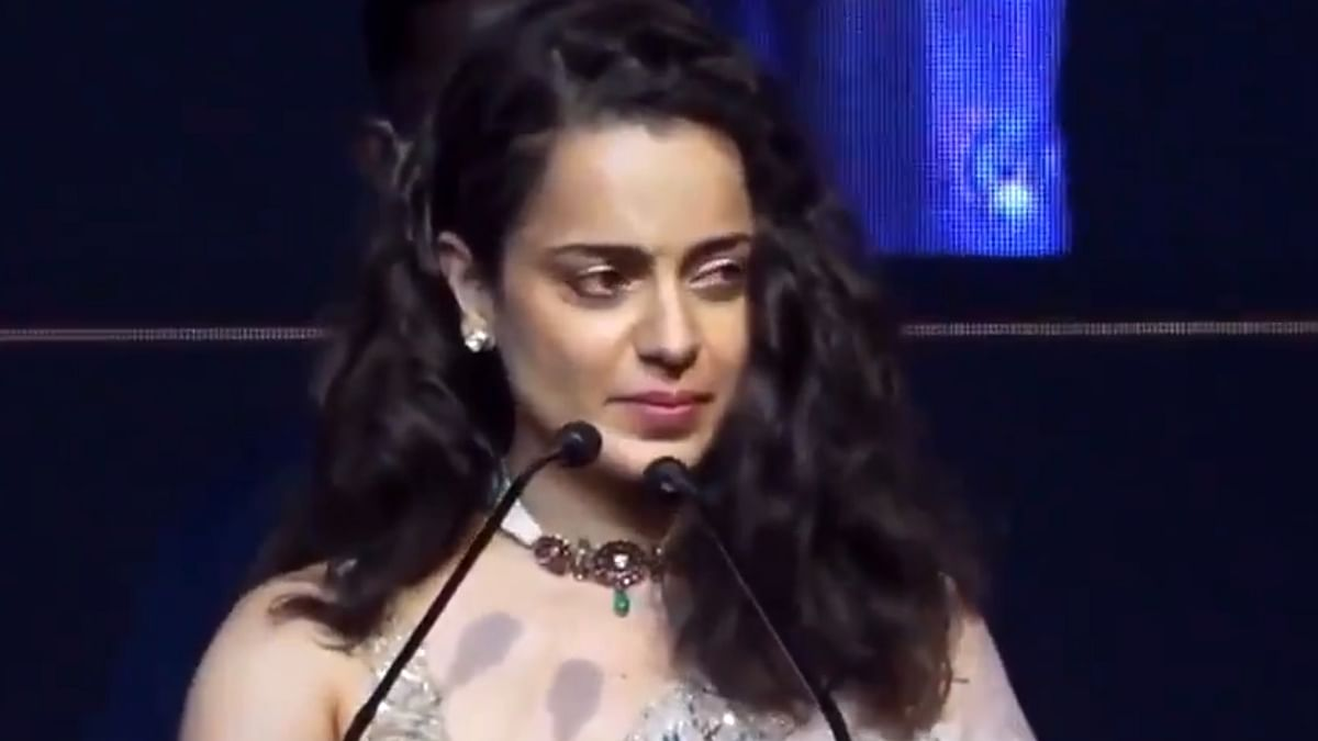 Watch: Kangana gets teary-eyed during 'Thalaivi' trailer launch; says 'I cried and it feels so good'