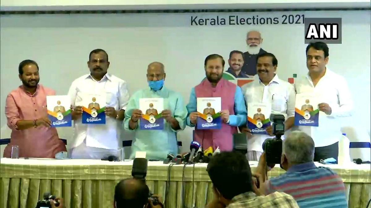 Prakash Javadekar releases manifesto for Kerala Assembly polls: Here are highlights of the BJP manifesto