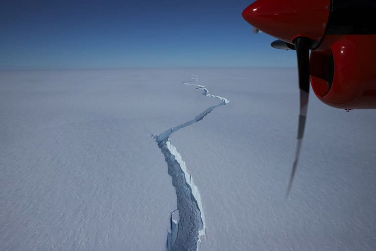 Watch: Iceberg double the size of Mumbai breaks off Antarctic ice shelf