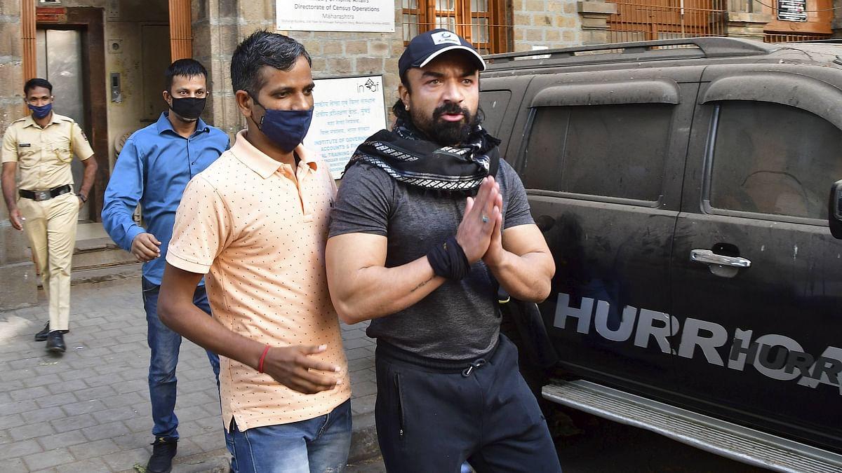 Mumbai: Actor Ajaz Khan remanded to NCB custody till April 3