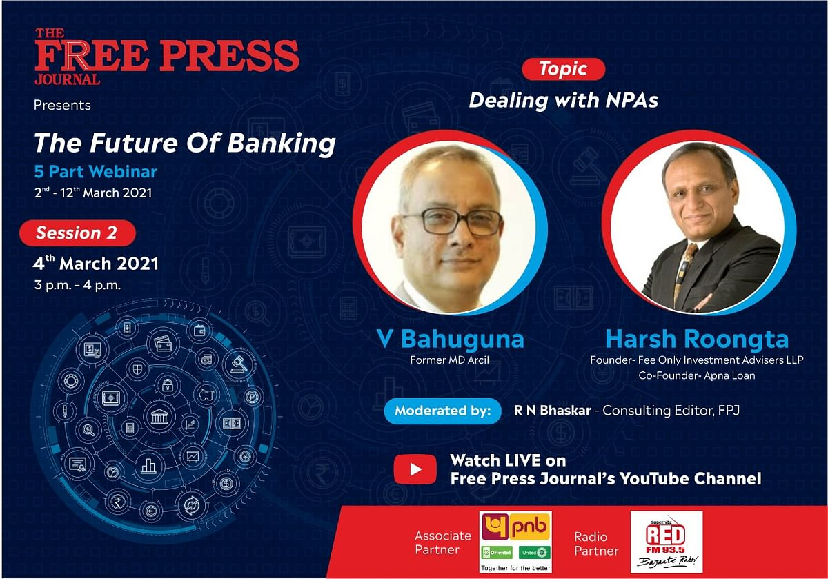 Watch: Experts talk about bad loans/ NPAs at 'The Future of Banking' webinar series