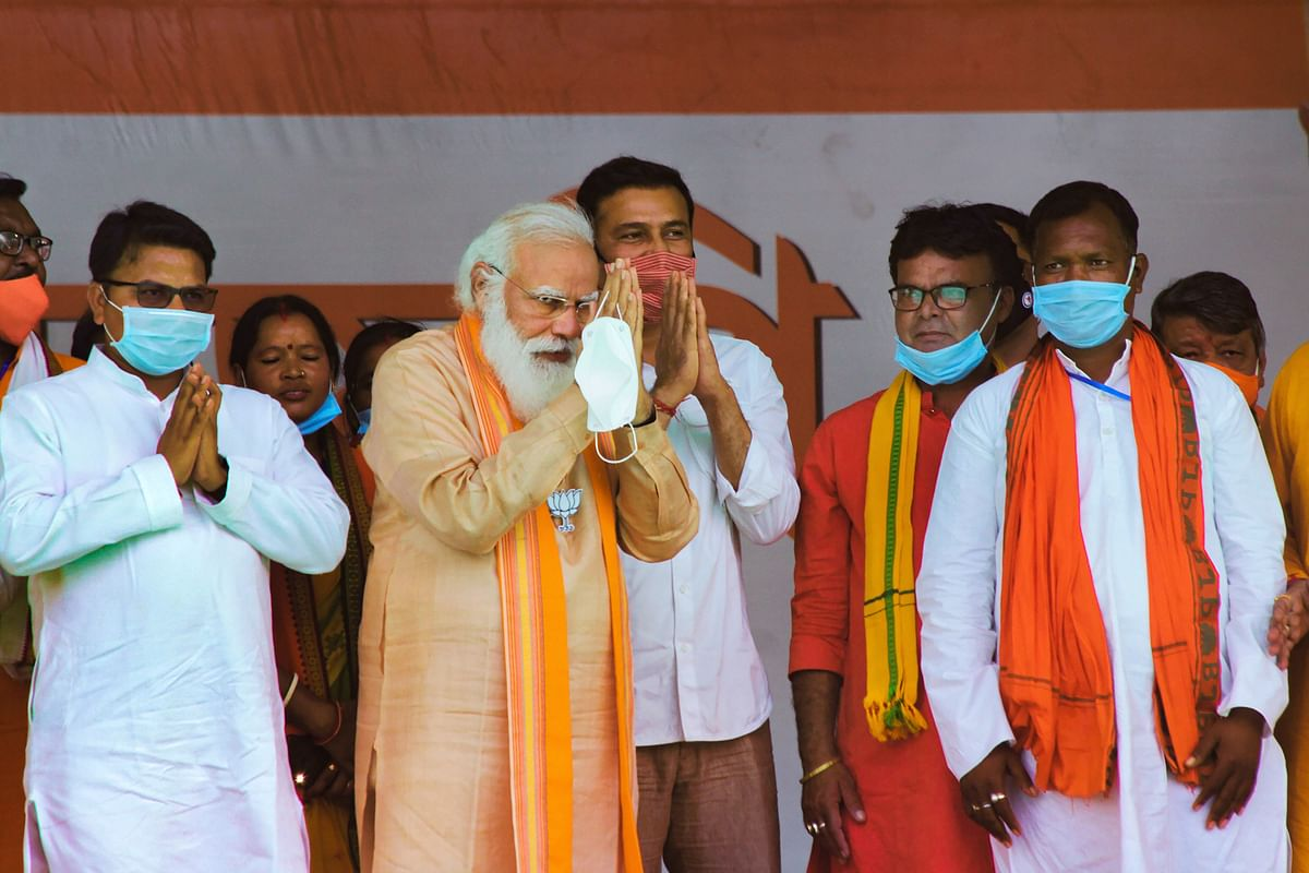 'Congress neither has a leader nor policy or ideology': PM Modi addresses rally in Assam's Karimganj