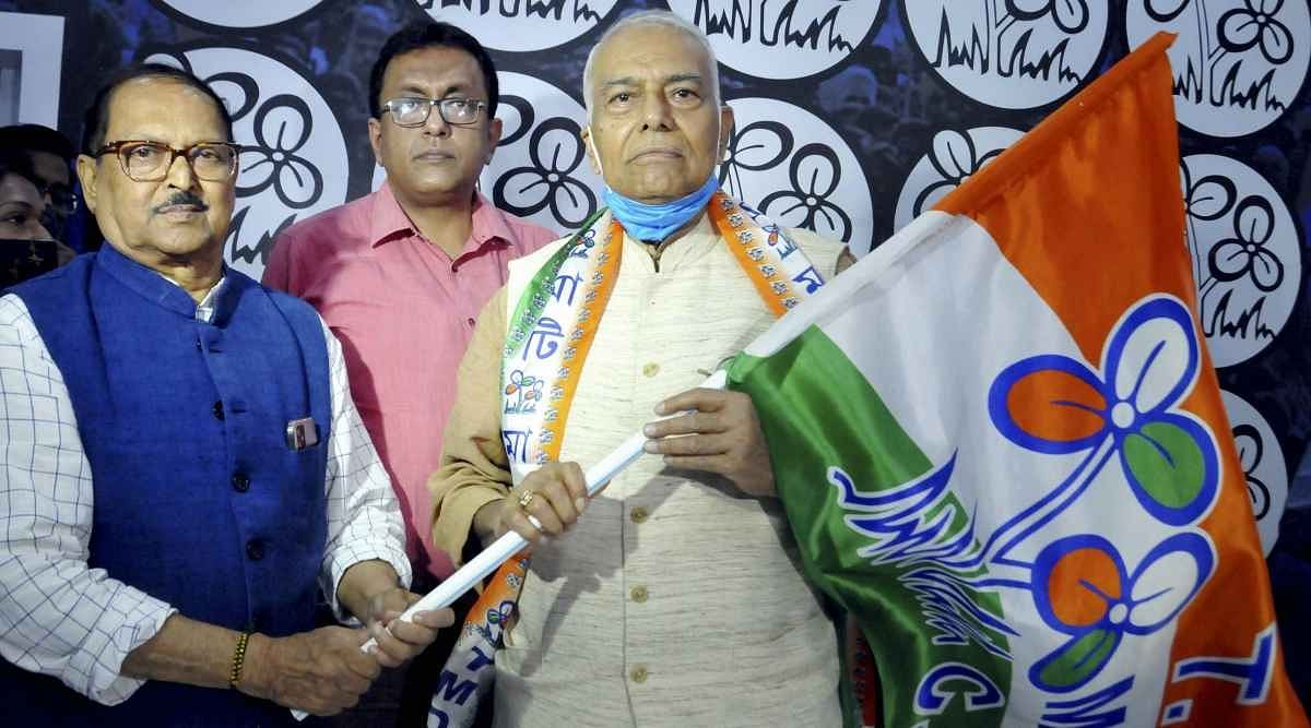 A L I Chougule explains the significance of Yashwant Sinha joining the TMC