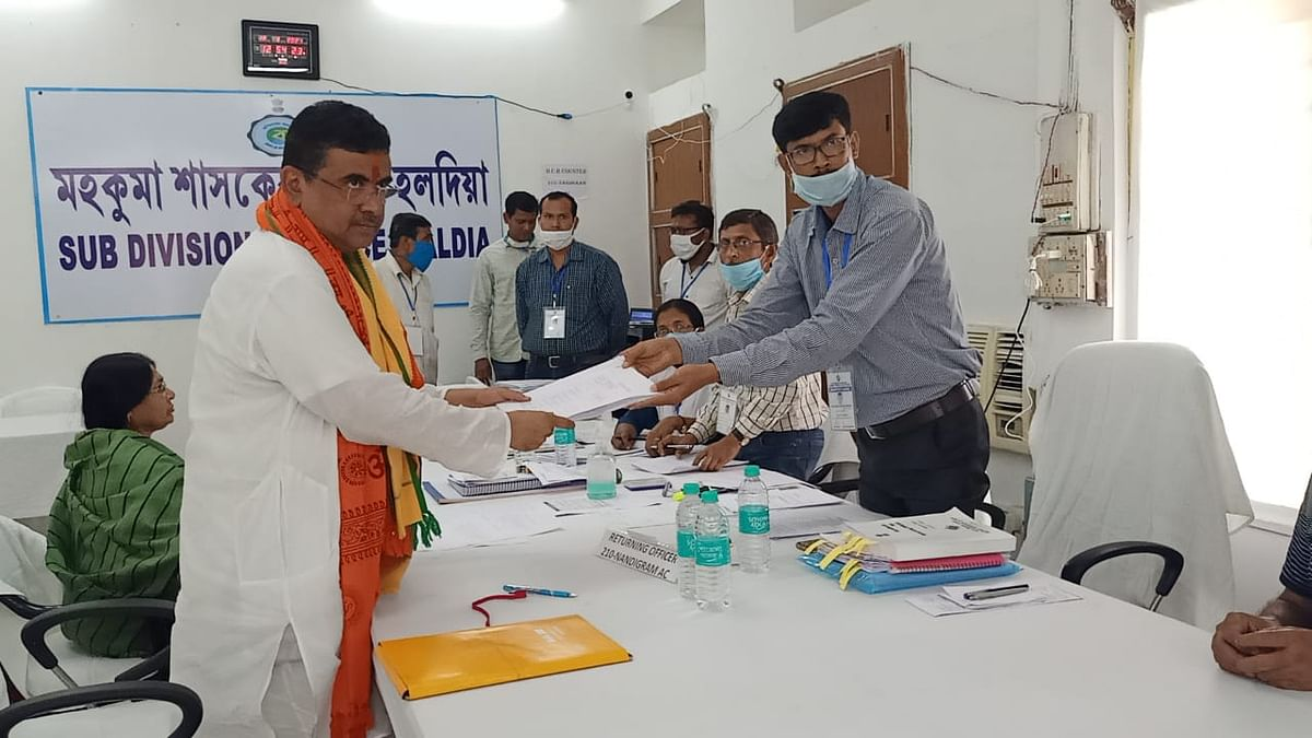 West Bengal Assembly polls: 'TMC's bloodshed politics will stop', says Suvendu Adhikari, files nomination from Nandigram