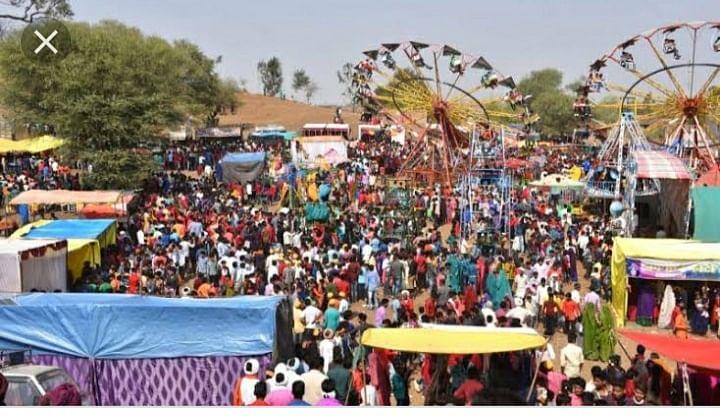 A view of Bhagoriya fair