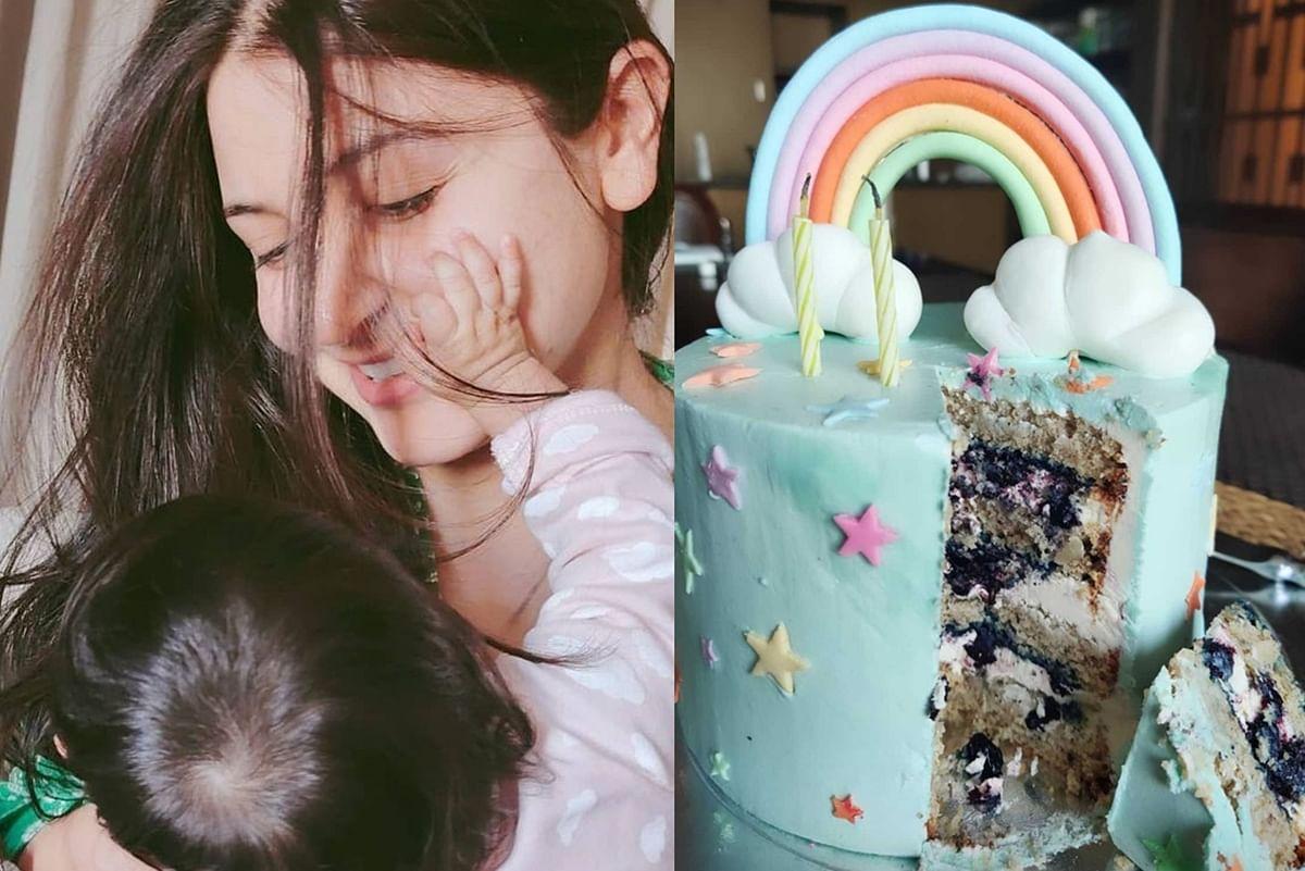 Anushka Sharma celebrates 2 months of having daughter Vamika with gender-neutral cake