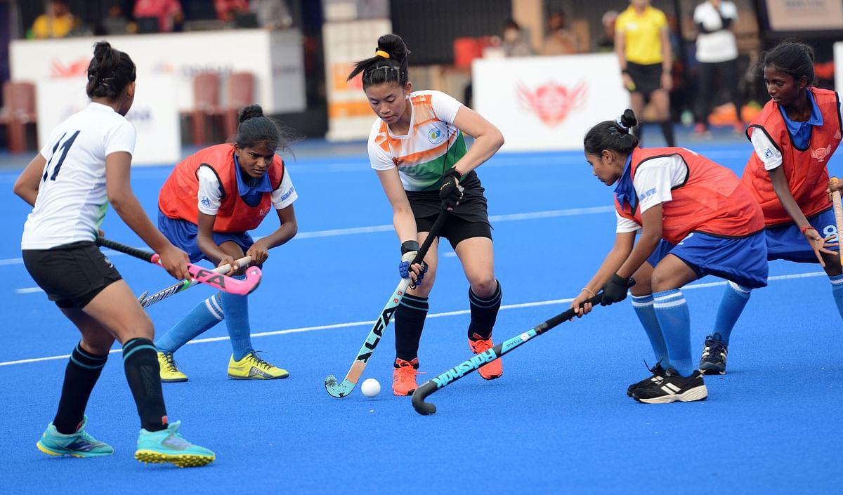 Hockey India Sub Junior Women Academy Championship: MP Hockey Academy beat TN Hockey Academy 42-0
