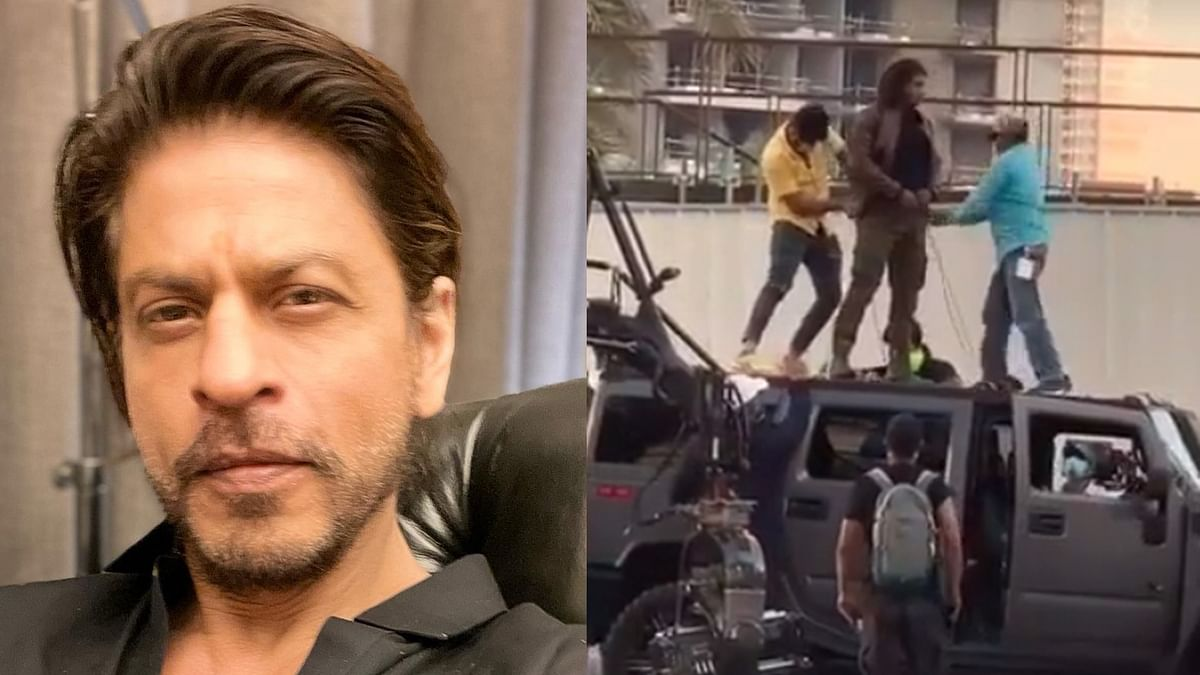 Watch: Leaked video of 'Pathan' shows Shah Rukh Khan gearing for a fight sequence