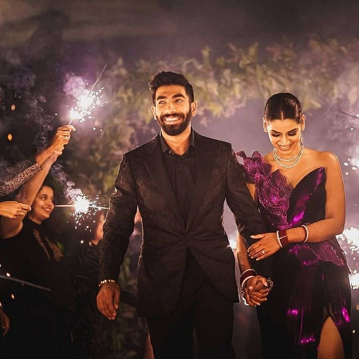 Jasprit Bumrah brutally trolled for wedding reception pics; netizens bring out old post calling for 'cracker-free Diwali'