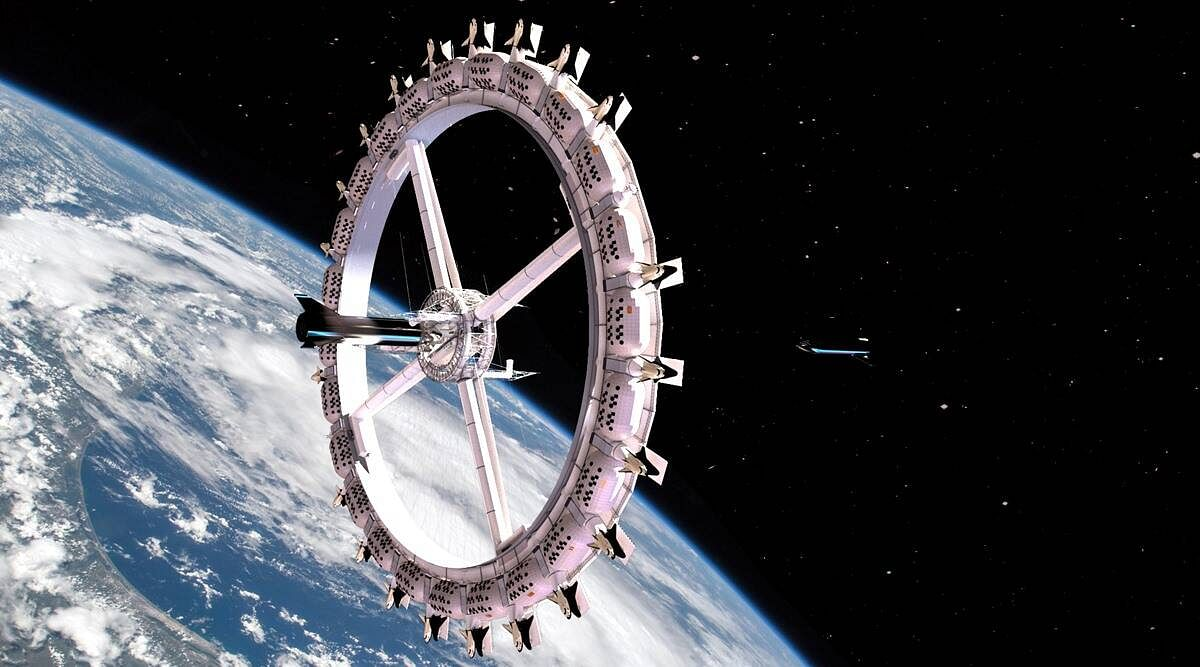 First luxury space hotel, Voyager Station, expected to open in 2027