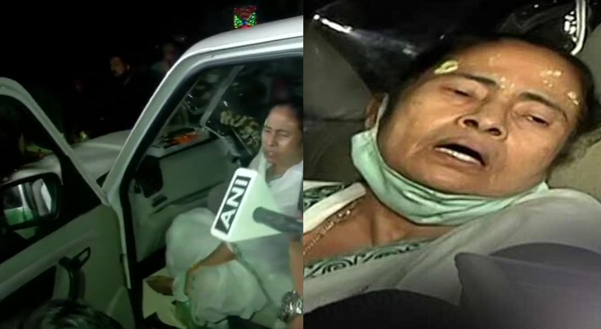 West Bengal: CM Mamata Banerjee injured in Nandigram, says she was pushed by few people near her car