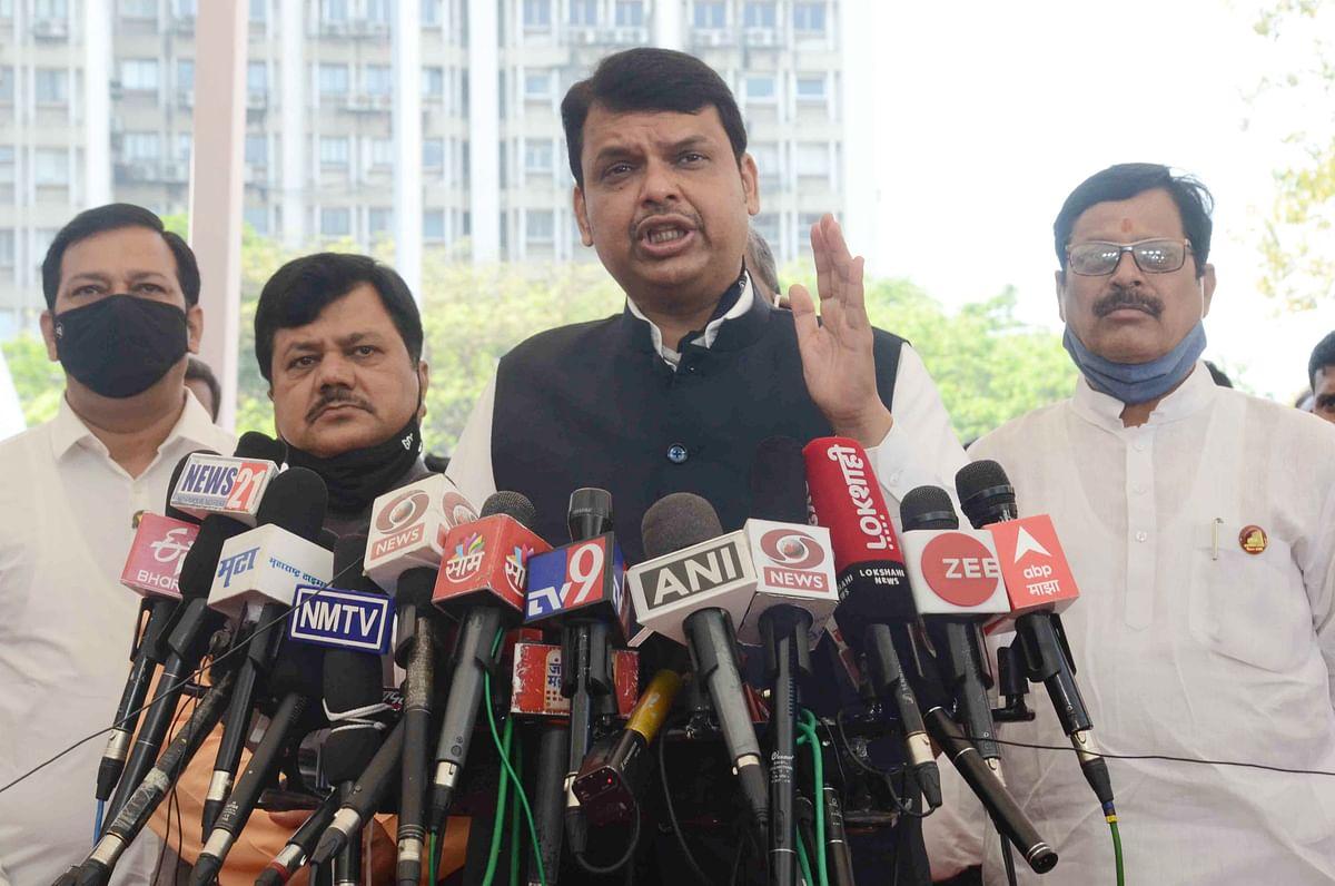 Maharashtra Budget Session 2021: Devendra Fadnavis moves breach of privilege motion against Home Minister Anil Deshmukh