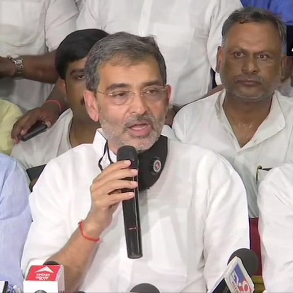 'In the interest of nation and state': Upendra Kushwaha announces decision to merge RLSP with JD(U)