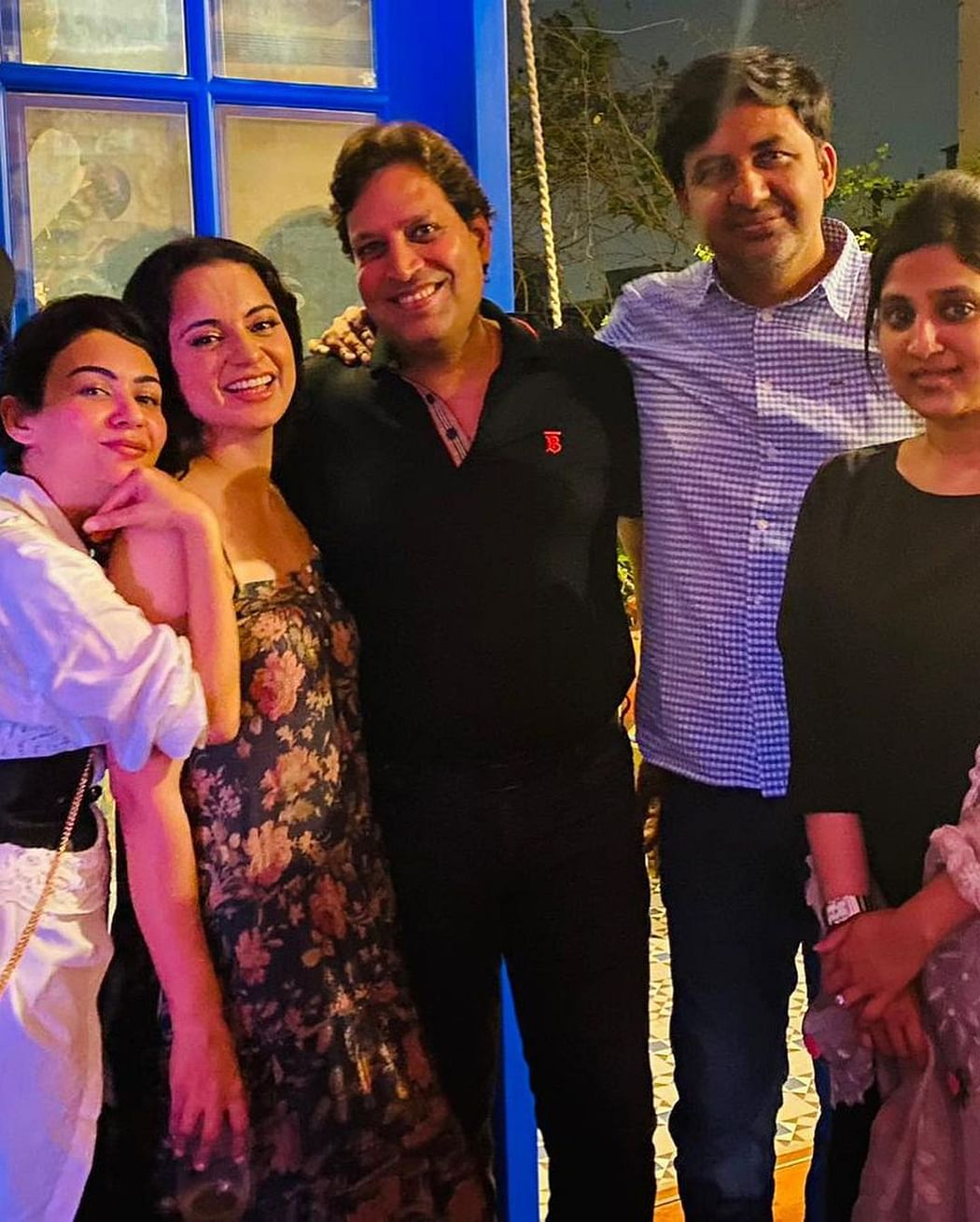 Inside pictures from Kangana's birthday bash with Anupam Kher, Ekta Kapoor, and others